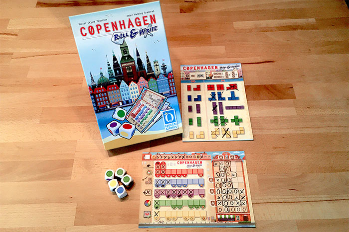 Copenhagen Roll & Write Setup