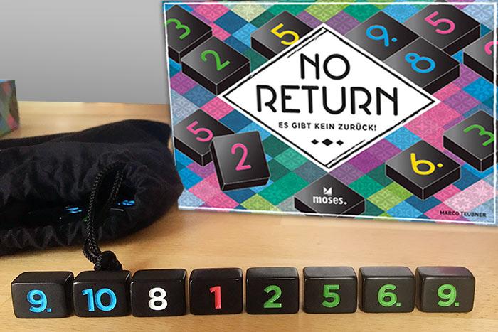 Spielaufbau No Return